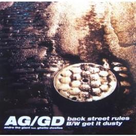 AG / Ghetto Dwellas - Back Street Rules / Get It Dusty