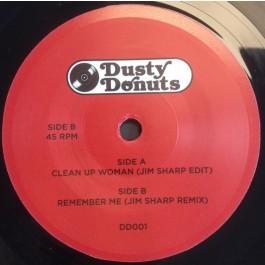 Jim Sharp - Clean Up Woman (Jim Sharp Edit) / Remember Me (Jim Sharp Edit)
