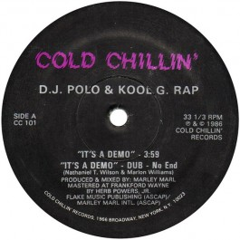 Kool G Rap & D.J. Polo - It's A Demo / I'm Fly