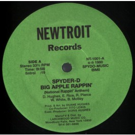 Spyder-D - Big Apple Rappin'