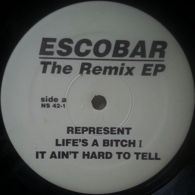 Nas - Escobar - The Remix EP