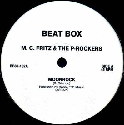 M.C. Fritz & The P-Rockers - Moonrock