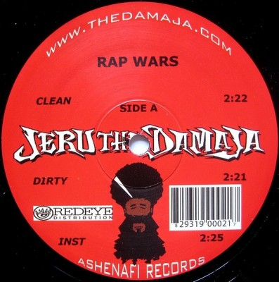 Jeru The Damaja - Rap Wars / Don't Get It Twisted