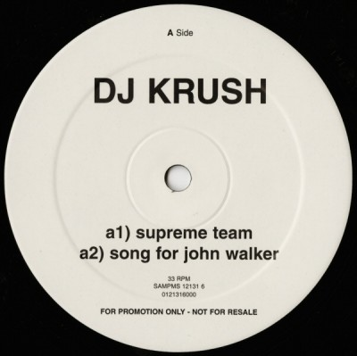 DJ Krush - Supreme Team