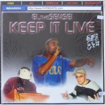El Da Sensei - Keep It Live