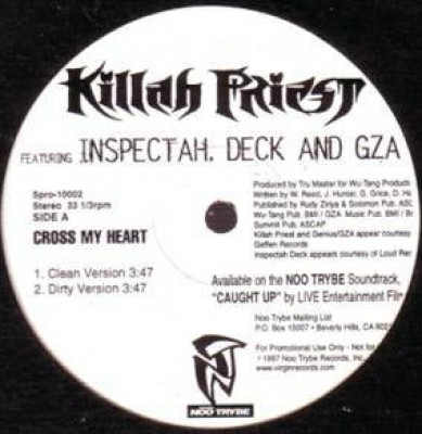 Killah Priest - Cross My Heart