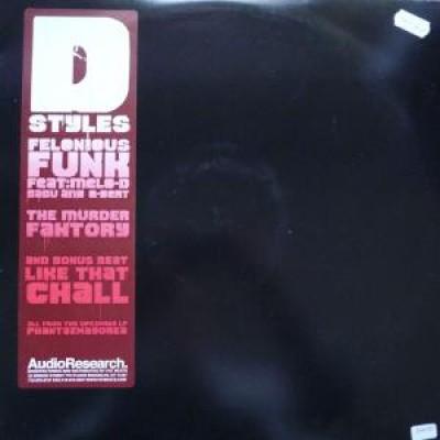 D-Syles - Felonious Funk