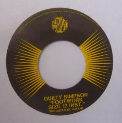 Guilty Simpson- Footwork Size 12 Version