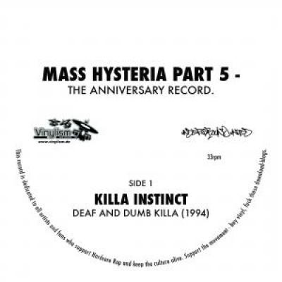 Mass Hysteria Part 5 Anniversary 7″ feat. Suspekt / Killa