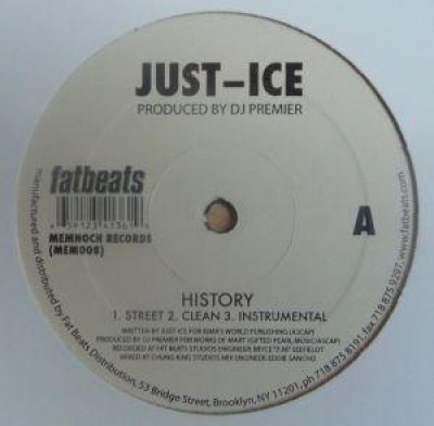 Just-Ice - History / Love Rap
