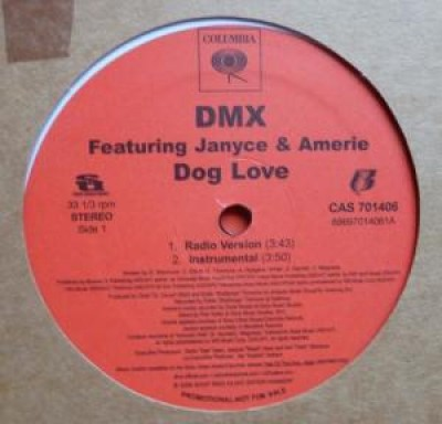 DMX - Dog love feat. Janyce & Amerie