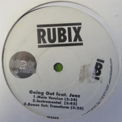 Rubix - Get It Crack'n / Going Out Feat Jonz