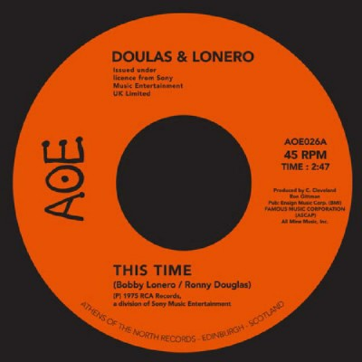 Douglas And Lonero - This Time / Don't Let Yourself Get Carried Away