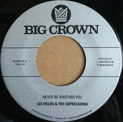 Lee Fields & The Expressions - Never Be Another You