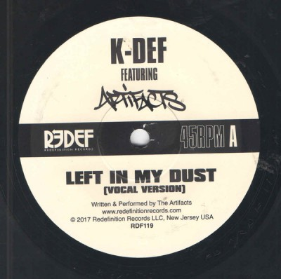 K-Def - Left In My Dust