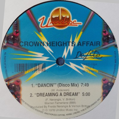 Crown Heights Affair - Dreaming A Dream (Goes Dancin)