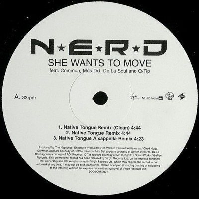 N*E*R*D - She Wants To Move