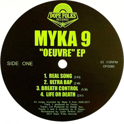 """Mika 9 - """"Oeuvre"""" EP"""