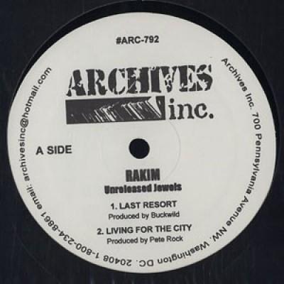 Rakim - Unreleased Jewels