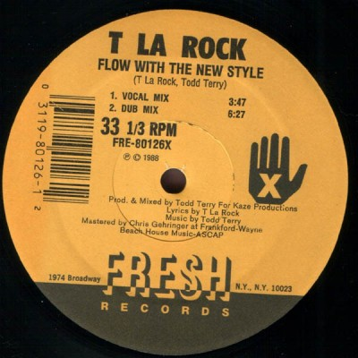 T La Rock - Flow With The New Style