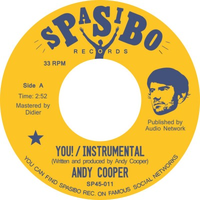 Andy Cooper - You! / Ride It Out