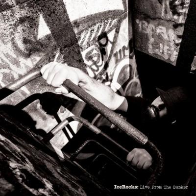Icerocks DXA - Live From The Bunker (Clear Vinyl with Red/Black Splatter)