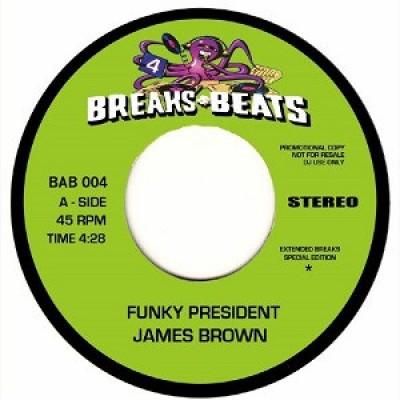 James Brown / The Vibrettes - Funky President / Humpty Dump Pt. 1