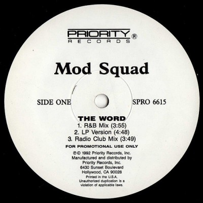 Mod Squad - The Word