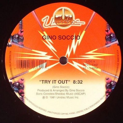 Gino Soccio - Try It Out