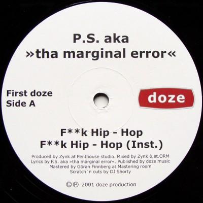 P.S The Marginal Error - F**k Hip-Hop