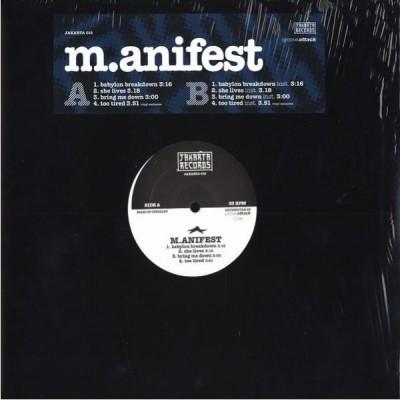 M.anifest - Babylon Breakdown