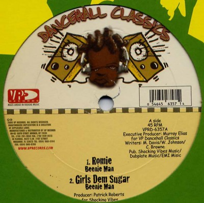 Beenie Man - Romie / Girls Dem Sugar