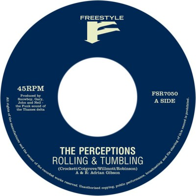 Perceptions, The - Rolling & Tumbling / Right The Wrong