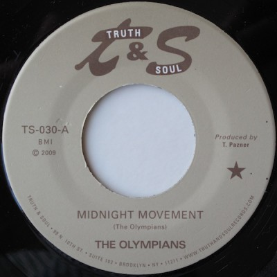 Olympians, The - Midnight Movement / The Rain Song