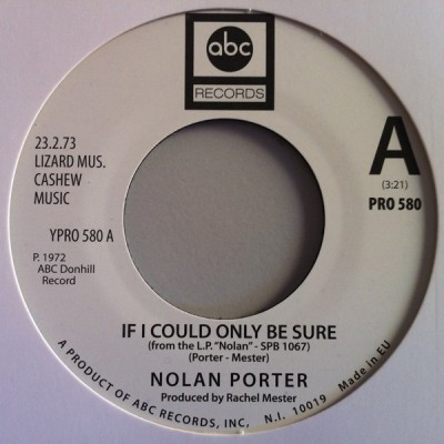 Nolan Porter / Holly St. James - If I Could Only Be Sure / That's Not Love