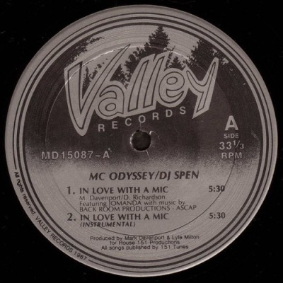 MC Odyssey & DJ Spen / Stone - In Love With A Mic / All's Fair In Love And War