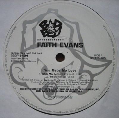 Faith Evans - You Gets No Love