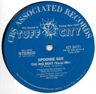 Spoonie Gee - The Big Beat