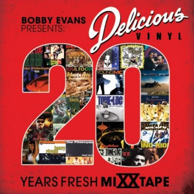 Bobby Evans - Presents: Delicious Vinyl 20 Years Fresh MiXXtape