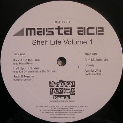 Masta Ace - Shelf Life Volume 1