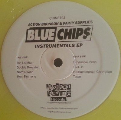 Action Bronson - Blue Chips Instrumentals EP