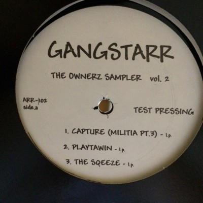 Gang Starr - The Ownerz Sampler  Vol. 2