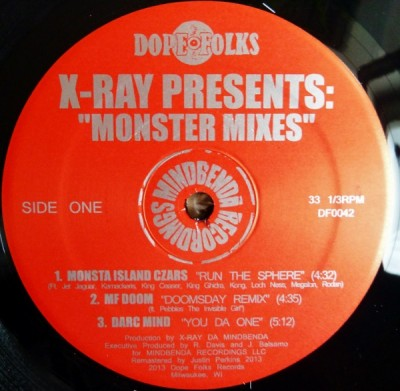 X-Ray - Monster Mixes