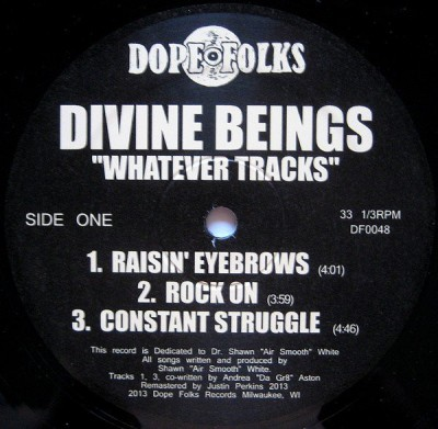 Divine Beings - Whatever Tracks