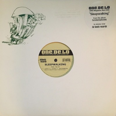 One Be Lo - Sleepwalking / Unparalleled - Promo