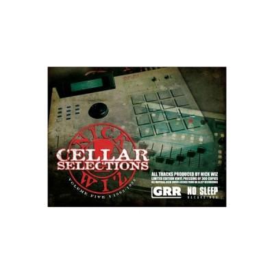 Nick Wiz - Cellar Selections 5: 1992-1998 (black vinyl version)