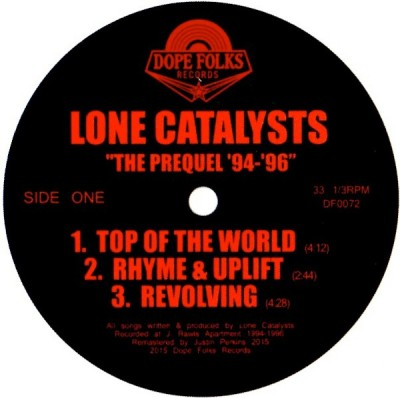 Lone Catalysts - The Prequel '94-'96