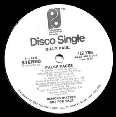 Billy Paul - False Faces