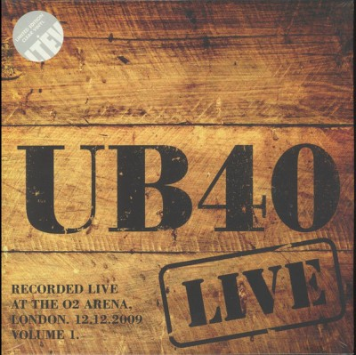 UB40 - Live At The O2 Arena London. 12.12.2009 Volume 1