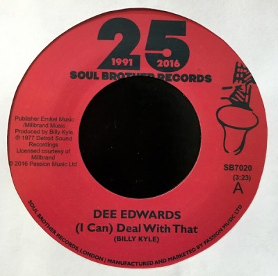 Dee Edwards - (I Can) Deal With That